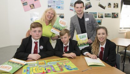 Students' taking part in the Learn to Earn programme
