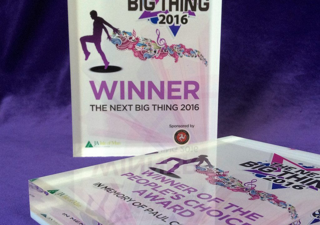 Photograph of 'The Next Big Thing?' awards
