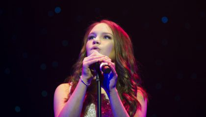 Amy Gravestock's rendition of the Whitney Houston classic 'I Have Nothing' has won her the title Next Big Thing 2017.