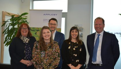 Caitlin Collister has been announced as the winner of Appleby Academy 2018, earning a paid summer placement with the offshore law firm.